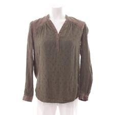 HUGO BOSS ORANGE Bluse Gr. DE 32 Grün Damen Oberteil Blouse Tunika Langarm