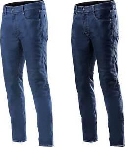 Alpinestars Merc Denim Pants - Motorcycle Street Bike Riding Jeans Textile Mens