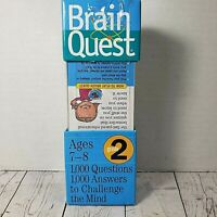Brain Quest Grade 2 by Chris Welles Feder (2005, Book, Other) NEW