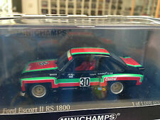 Ford Escort II RS 1800 - DRM 1976 - H. Heyer - Minichamps - 1:43 - #30