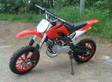 50cc Dirt Bike - Kids Scrambler - 50cc Motocross - Dirtbike - Red