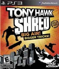 TONY HAWK SHRED  :  BIG AIR ! BIGGER TRICKS !                   -----   pour PS3