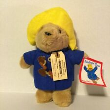Paddington Bear Plush Stuffed Animal Toy Collectible Sears Kids Gifts