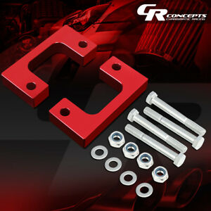"""FOR 07-17 SILVERADO/SIERRA 1500 RED 2""""FRONT LOW MOUNT LEVELING LIFT KIT SPACERS"""
