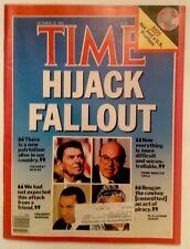 TIME MAGAZINE OCTOBER 28 1985 AIDS REAGAN VERY GOOD