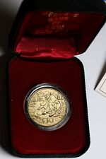 New Zealand NZ 1995 10 Dollars $10 Coin Gold Prospector BU Coin Case & COA