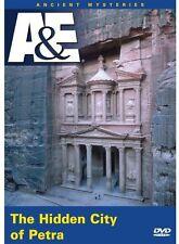 Ancient Mysteries: The Hidden City of Petra (2005, REGION 0 DVD New) DVD-R