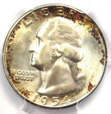 1954-S Washington Quarter 25C - Certified PCGS MS67 - Rare in MS67 - $350 Value!