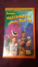 Barney - Barneys Halloween Party (VHS, 1998)tested