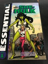Essential Marvel Comic Vol 1 The Savage She-hulk 1-25 Stan Lee & Friends