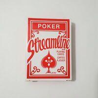 Poker Streamline Playing Cards New 2009 Usa Ebay