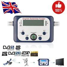 Digital Satfinder Satellite Finder Signal Meter Dish Tester Compass TV Receiver