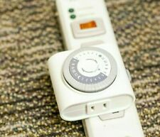 Defiant Indoor Plug In Mechanical Big Button Timer 15 Amp 24 Hour Colorwhite