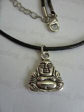 Buddha Charm Tibetan Silver Costume Necklaces & Pendants