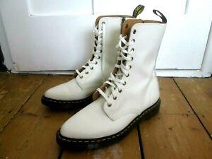 Women's DR. MARTENS 'Alix' 10 Eye Pointed Toe Zip Boots. UK 9 EU 43. Worn Once
