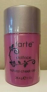 Tarte Amazonian Clay ~DOLLFACE~ Pink Cheek Blush Stain Large 1 OZ Sealed Size!
