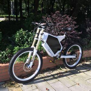 Troya 5000w/72v Electric Bicycle Scooter Ebike Mountain Bike 80km/h FASTEST