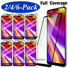 For LG G7 ThinQ Full Coverage 3D Curved Premium Tempered Glass Screen Protector