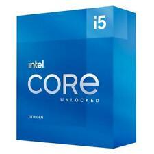 Intel Core i5-11600K Desbloqueado para equipos de desktop: 6 núcleos y 12 subprocesos-hasta