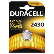Pila Batteria DURACELL CR2430 Batteria Litio 3V  DL2430 ecr2430 BATTERIE 2430