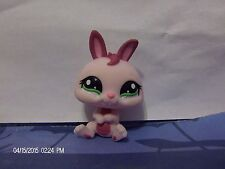 Littlest Pet Shop Raspberry Dwarf Bunny with Green Eyes #1466