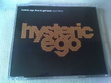 HYSTERIC EGO - TIME TO GET BACK - 3 MIX HOUSE CD SINGLE