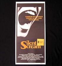 SILENT SCREAM 1980 Barbara Steele De Carlo RARE Daybill Movie poster