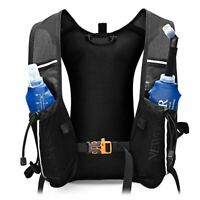 Running Vest Hydration Backpack Ultra Trail Hiking Rucksack Soft Flask Bag 10L