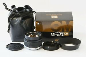 [Open Box !] OLYMPUS OM-SYSTEM ZUIKO Auto-W 35mm F2 Wide Angle from JAPAN O226