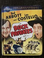 Buck Privates (Blu-ray/DVD, 2-Disc Set, Canadian Universal 100th Anniversary...