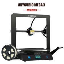 ANYCUBIC Mega X Verbesserte 3D Drucker Große Build Volumen Ultrabase mit 1kg PLA