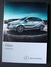 Mercedes W246 B - Klasse  Betriebsanleitung 2012 Bedienungsanleitung Handbuch