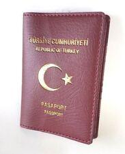 Passport Umschlag Kilif TC türkische Reisepass Hülle Pasaport TOP Qualität
