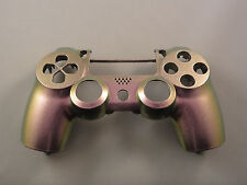Purple & Green Chameleon Front Face Shell For PS4 Controller New For current gen