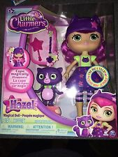 NIB LITTLE CHARMERS HAZEL MAGICAL DOLL 8 PHRASES & SOUNDS CAPE DISAPPEARS