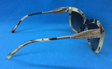 BURBERRY Ladies Sun Glasses B 4207-F 3501/13 Beige/Brown Patterned Frames