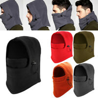 Mens Ladies Fleece Neck Warmer Snood Scarf Ski Motorbike Cycling Hiking Mask New