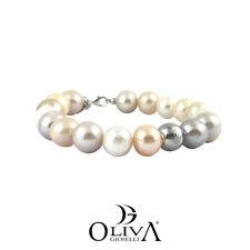 Bracciale Donna Kokichi Perle Colore Sfera Oro Bianco 18 Carati
