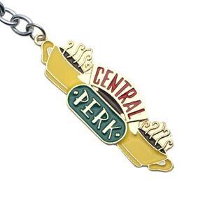 Friends TV Series Central Perk Coffee Shop Logo Metal Key Ring Holder Keychain