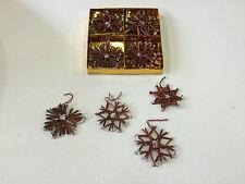 Weihnachten Baumbehang Strohsterne 12 Stück Ø 5 cm