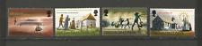 Tristan Da Cunha 1969 Y&T N°128 à 131 4 timbres non oblitérés /T4483