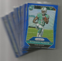 2015 Panini Prizm Football Prizms Blue Green Red **Pick Your Card**
