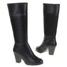 Kniehohe Stiefel mit hohem Absatz (5-8 cm) in EUR 38