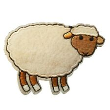 Sheep Iron On Patch Sew on transfer - Farm animal Sheep iron on patch