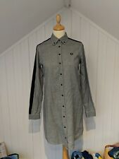 Fred Perry Houndstooth Dress Size 8 (Northern Soul, Mod)