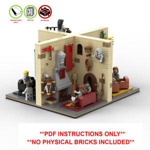 Lego Harry Potter Custom MOC Modular Playset -PDF INSTRUCTIONS ONLY - NO BRICKS