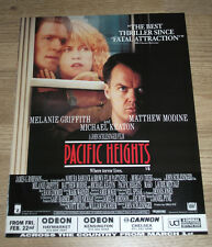 PACIFIC HEIGHTS - KEATON MODINE - 1991 ORIGINAL ADVERT FILM POSTER -  - EPHEMERA