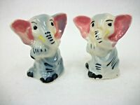 Vintage Republican Elephants  - Salt and Pepper Shakers