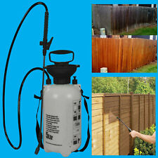 5 Litre Fence, Shed, Decking, Portable 5L Pressure Sprayer Pump, Wood Treatment