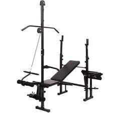 Palestra panca multifunzione fitness pesi addominali muscoli con portabilanciere